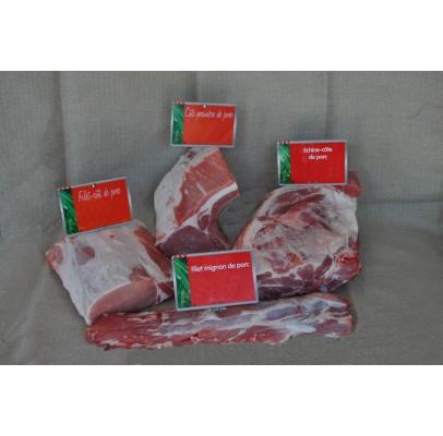 ½ porc environ 50kg